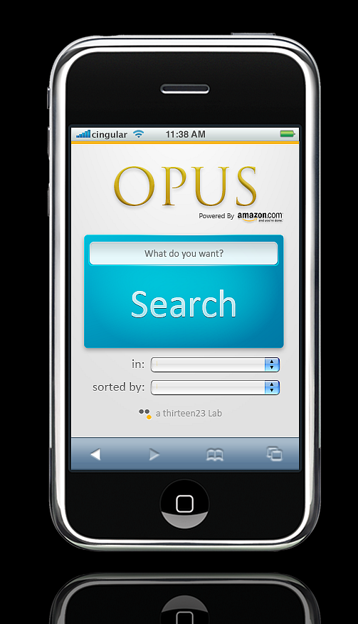 Opus :: An Amazon Search Concept